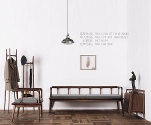 浙江新中式沙发