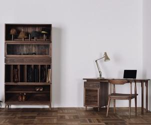 实木电脑桌