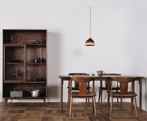 榆木圈椅餐椅
