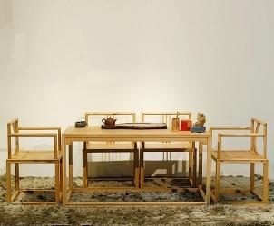 老榆木家具茶桌