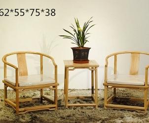 老榆木圈椅